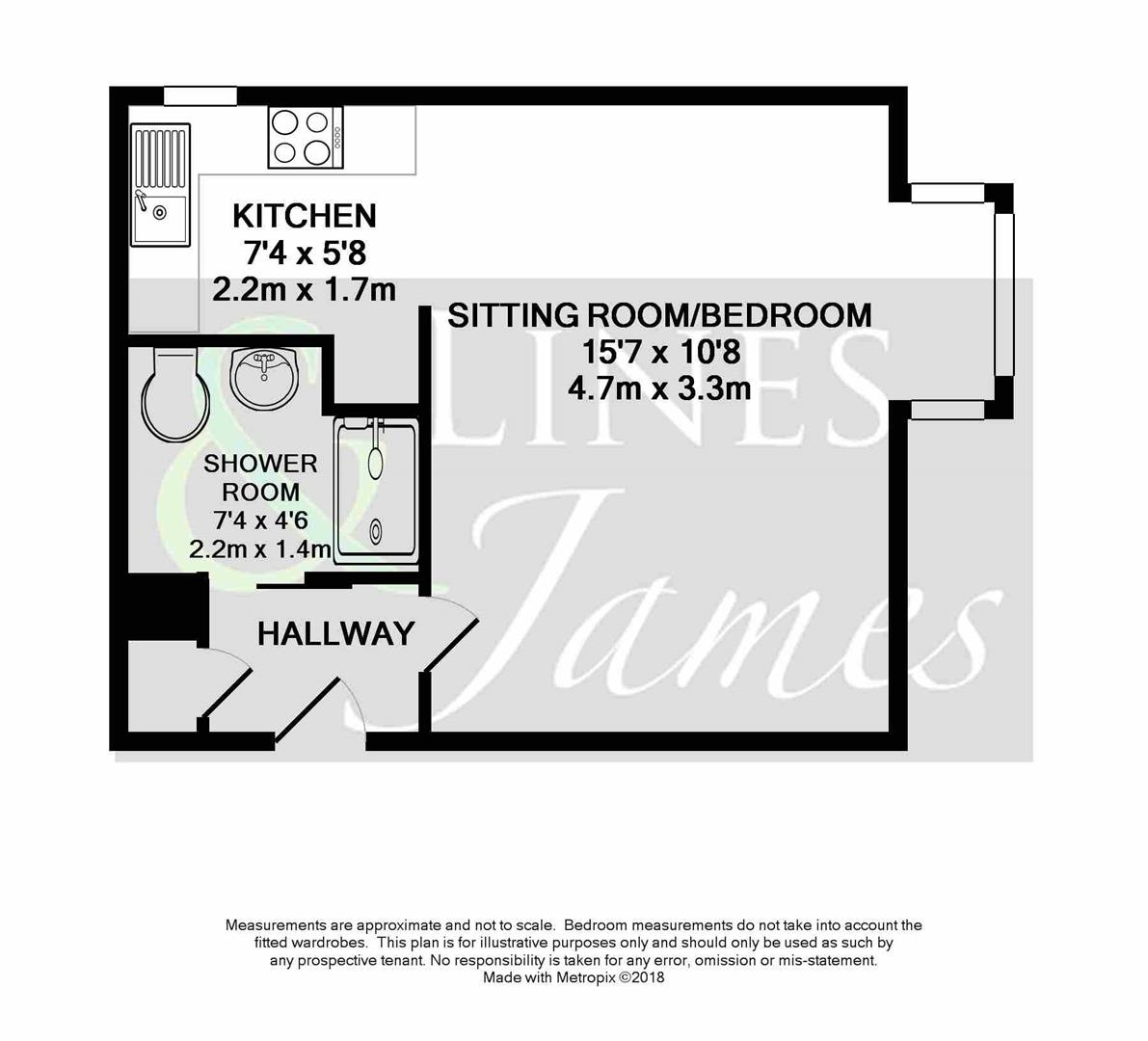 Floorplan for Manor Fields, Horsham